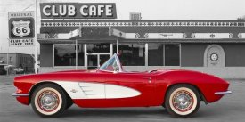 Unknown - 1961 Chevrolet Corvette at Club Cafe on Route 66