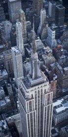 Cameron Davidson - Aerial view of the Empire State Building