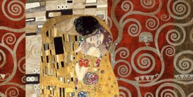 Klimt Patterns - The Kiss Pewter