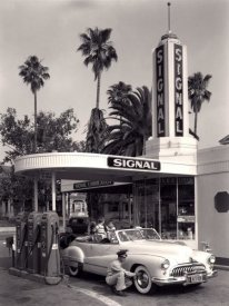Unknown - American Gas Station, 1950