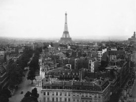 Unknown - Aerial View over Paris