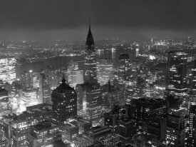 Unknown - New York City at Night, 1957