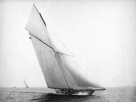Unknown - Yacht Columbia Sailing, 1899
