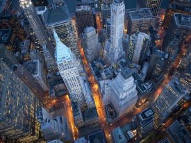 Cameron Davidson - Aerial view of Wall Street