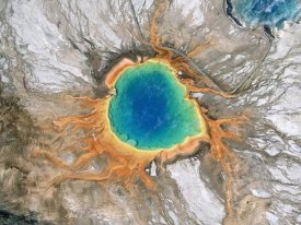 Yann Arthus-Bertrand - Grand Prismatic Spring, Yellowstone National Park, Wyoming