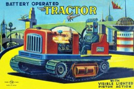 Retrotrans - Battery Operated Tractor