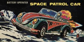 Retrotrans - Battery Operated Space Patrol Car