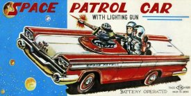 Retrotrans - Space Patrol Car