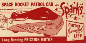 Retrotrans - Space Rocket Patrol Car