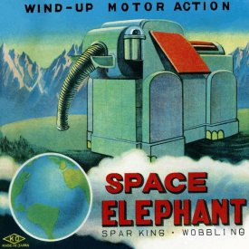 Retrobot - Space Elephant