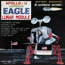 Retrorocket - Apollo-11 American Eagle Lunar Module