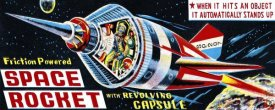 Retrorocket - Space Rocket with Revolving Capsule