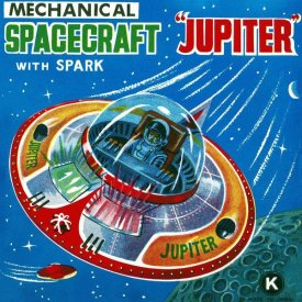 Retrorocket - Mechanical Spacecraft Jupiter