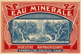 Retrolabel - Eau Minerale