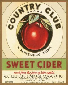 Retrolabel - Country Club Sweet Cider