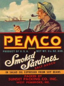 Retrolabel - Remco Smoked Sardines