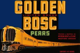 Retrolabel - Golden Bosc Limited Edition Pears