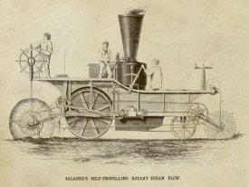 Inventions - Saladee's Self-Propelling Rotary Steam Plow