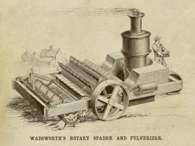 Inventions - Wadsworth's Rotary Spader and Pulverizer