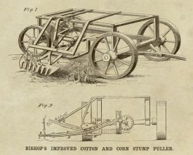 Inventions - Bishop's Improved Cotton and Corn Stump Puller