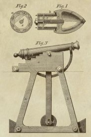 Inventions - Device for Adjusting Cannon Trajectory and Accuracy