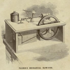 Inventions - Palmer's Mechanical Blow Pipe