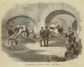 Inventions - Two Embrasures in the Flank Battery of Fort Pickens