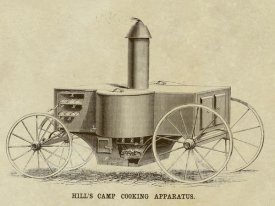 Inventions - Hill's Camp Cooking Apparatus