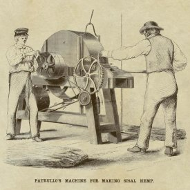 Inventions - Patrullo's Machine for Making Sisal Hemp