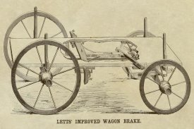 Inventions - Lett's Improved Wagon Brake