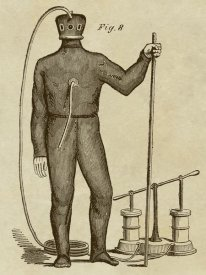 Inventions - Diving Gear with Suit and Air Pump
