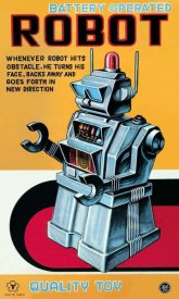 Retrobot - Battery Operated Robot