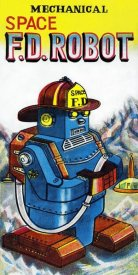 Retrobot - Mechanical Space Fire Department Robot