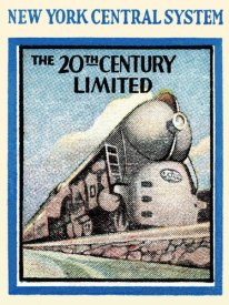 Retrotravel - New York Central System - The 20th Century Limited