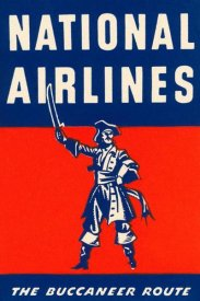 Retrotravel - Nation Airlines - The Buccaneer Route