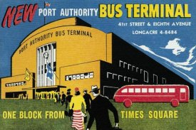 Retrotravel - New Port Authority Bus Terminal