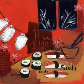 Krista Johnson - Sushi lanterns