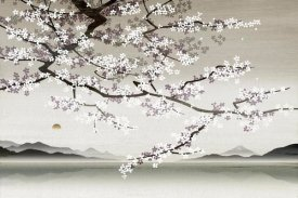Nick Purser - Flower blossom in Asian landscape