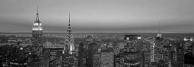 Richard Berenholtz - Midtown Manhattan at Sunset, Black and White