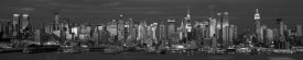 Richard Berenholtz - Manhattan Skyline, NYC (B&W)