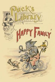 Vintage Elephant - Happy Family