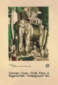 Vintage Elephant - There's a Transport of Joy at the Zoo