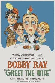 Unknown 20th Century American Illustrator - Movie Poster: Bobby Ray - Greet the Wife