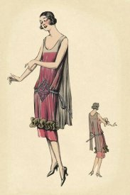 Vintage Fashion - Raven-Haired