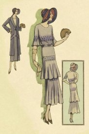 Vintage Fashion - Springtime Dress in Lavender
