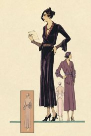 Vintage Fashion - Modeles Originaur: For the Woman About Town