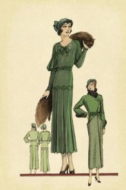 Vintage Fashion - Modeles Originaur: Emerald Style