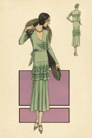 Vintage Fashion - Modeles Originaur: In Green
