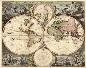 Nicolao Visscher - World Map
