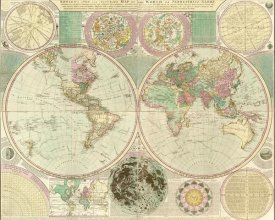 Carington Bowles - World Map